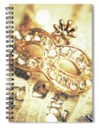A Golden Occasion Spiral Notebook