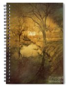 A Golden Winter 2 Spiral Notebook