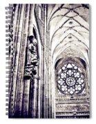 A Gothic Church Spiral Notebook