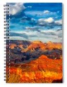 A Grand Canyon Sunset Spiral Notebook