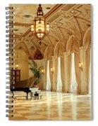 A Grand Piano Spiral Notebook
