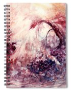 A Grape Fairy Tale Spiral Notebook