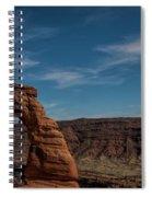 A Great Arch Spiral Notebook