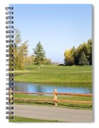 A Great Day For Golf Spiral Notebook