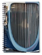 A Grille With A Smile Spiral Notebook
