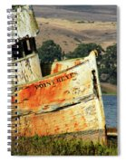 A-ground At Point Reyes Spiral Notebook