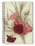 A Group Of Clove Carnations Spiral Notebook