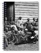 A Group Of Slaves Spiral Notebook
