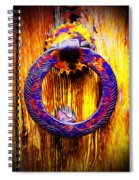 A Happy Welcome Spiral Notebook