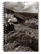 A Hard Existence - Sepia Spiral Notebook