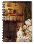A Hard Word Spiral Notebook