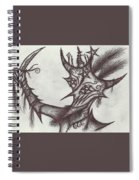 A Harlequin, The Devil Spiral Notebook