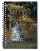A Haunted Story In Dahlonega Spiral Notebook
