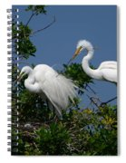 A Helping Beak Spiral Notebook