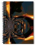 A Hidden Door Spiral Notebook