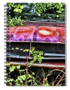 A Hidden Mustang Spiral Notebook