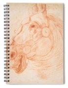 a Horse's Head Spiral Notebook