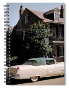 A Hot Date In A Pink Caddy Spiral Notebook