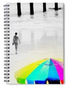 A Hot Summer Day Spiral Notebook