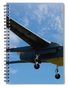 A Hunter Joint Tactical Unmanned Aerial Vehicle Spiral Notebook