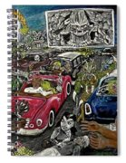 A I P Monster Movie Marathon At The Twilight Drive - In  La Porte Indiana Spiral Notebook