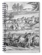 Chariot Of Apollo Spiral Notebook