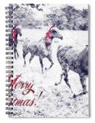 A Joyful Christmas Spiral Notebook