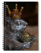 A King For A Day Spiral Notebook