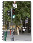 A Kiss In Budapest Spiral Notebook