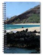 A L O H A  E Ala E Puu Olai Oneloa Big Beach Makena Maui Hawaii Spiral Notebook