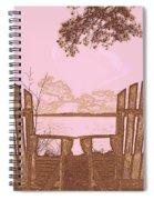 A Lake Murray Sc Sketch Spiral Notebook