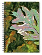 A Leaf On The Pile Spiral Notebook
