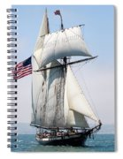 A Life At Sea Spiral Notebook