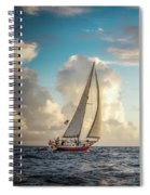 A Life At Sea Spiral Notebook