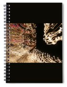 A Light Abstraction Spiral Notebook