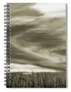 A Light Embrace Spiral Notebook