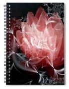 A Light In The Dark Spiral Notebook