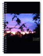A Lighter Side Of A Sunset Spiral Notebook