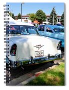 A Line Of Classic Antique Cars 3 Spiral Notebook