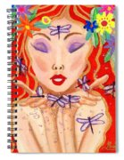 A Little Dragonfly Spell Spiral Notebook