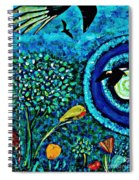 A Little Garden At The Edge Of The World Spiral Notebook