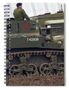 A Little Honey - M3 Stewart Light Tank Spiral Notebook