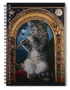 A Little Night Music Spiral Notebook
