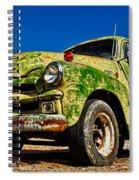 A Little Wear Spiral Notebook