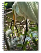 A Lively Lunch Spiral Notebook