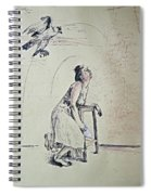 A Lonely Thought Spiral Notebook