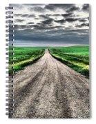 A Long Dakota Road Spiral Notebook