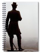 A Look Over Little Round Top Spiral Notebook