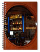 A Look Thru The Fishbowl Spiral Notebook