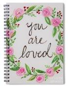 A Love Note Spiral Notebook